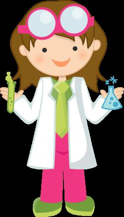 Girl Scientist Free Clipart | Science Fun | Pinterest | Free, Clip ...