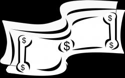 Money Clipart Black And White - Clipartion.com