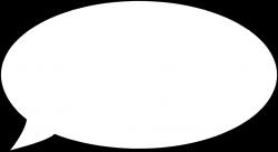 Cartoon Bubble   Free Stock Photo   Illustration of a blank cartoon ...
