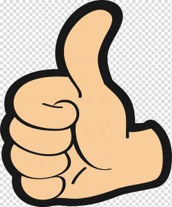 Hand gesture illustration, Thumb signal Encapsulated ...