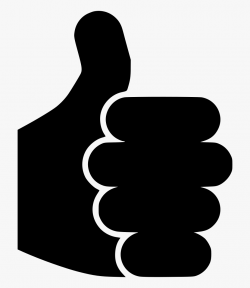 Money Fist Icon Black White Clipart Prayer - Yes No Finger ...