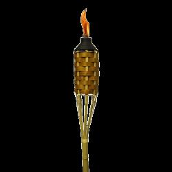 Burning Tiki Torch transparent PNG - StickPNG
