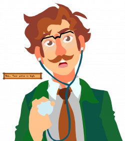 Harvey from Stardew Valley by Soulfoxdemon.deviantart.com on ...
