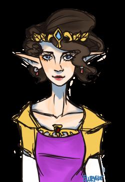 TLOZ: Zelda Fitzgerald as Princess Zelda by Tired-Artist on DeviantArt