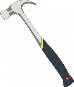 OnlineLabels Clip Art - Hammer 4