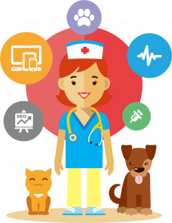 Veterinarian by GDJ | Animales - vector | Pinterest | Veterinarians
