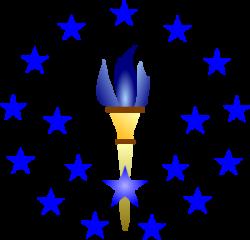 Blue Torch Clip Art at Clker.com - vector clip art online ...