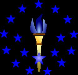 Blue Torch Clip Art at Clker.com - vector clip art online, royalty ...