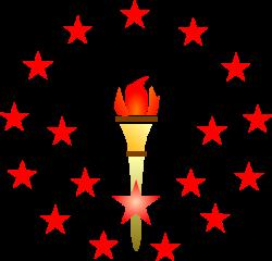 Red Torch Clip Art at Clker.com - vector clip art online, royalty ...