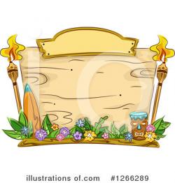 Hawaiian Clipart #1266289 - Illustration by BNP Design Studio