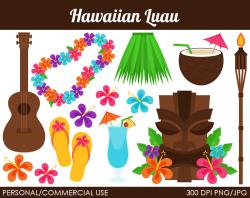 Clip Art Hawaiian Flowers free image