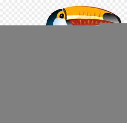 Clip Art Freeuse Library Bill Clipart Bird - Tucano Png ...