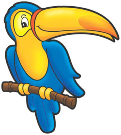 Blue Toucan   Printable Clip Art and Images