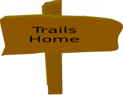 Trail Sign, From Box Canyon Trail Sign Clip Art at Clker.com ...