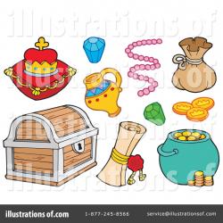 Treasure Clipart #214546 - Illustration by visekart