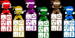 Kids Ninja Party Scavenger Hunt — PartyGamesPlus