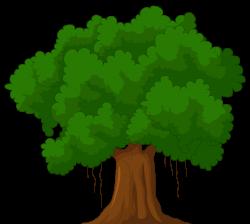 Cartoon Green Tree PNG Clipart - Best WEB Clipart
