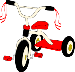 Tricycle clip art , summer toys graphics   clipart   Pinterest ...