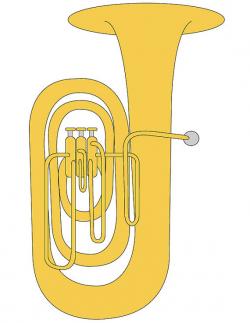 Tuba Clip Art/ Tuba Illustration/ Tuba Graphic/ Music Student