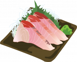 Amberjack sashimi Icons PNG - Free PNG and Icons Downloads