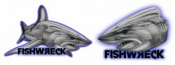 Bumper Stickers - Fishwreck - Fishing Apparel Australia | logo ...