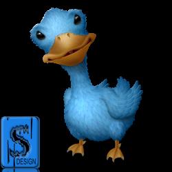 Twitter Bird PNG Transparent free image