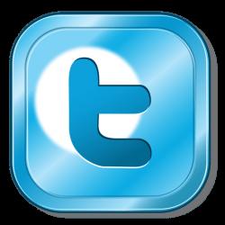 Twitter metallic button - Transparent PNG & SVG vector