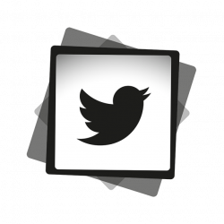 Twitter Black White Icon, Social, Media, Icon PNG and Vector for ...