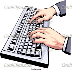 Typing 20clipart | Clipart Panda - Free Clipart Images