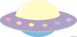 Ufo Pastel Clip Art - Sweet Clip Art
