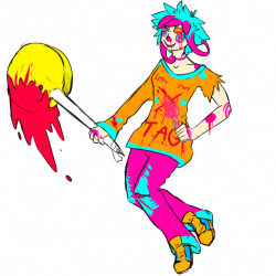 Candy!whiteface Tumblr Dare by UFO-Crasher on DeviantArt