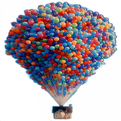 up pixar balloon house - Roblox