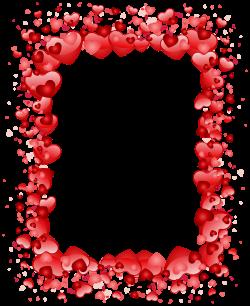 Valentine Border Clip Art – Valentine's Day Info
