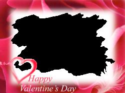 Valentines day frame png » PNG Image