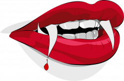 Open Vampire Mouth transparent PNG - StickPNG