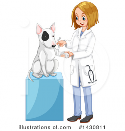 Veterinarian Clipart #1430811 - Illustration by Graphics RF