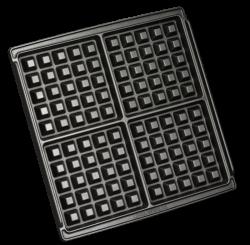 KRUPS 4 Slice Belgian Waffle Maker GQ502D51 GQ502D51