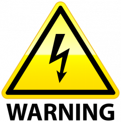High Voltage Warning PNG Clip Art - Best WEB Clipart