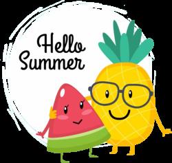 hellosummer summer watermelon pineapple friends buddies...