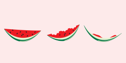 The 17 Unavaoidable Stages of Eating a Slice of Watermelon