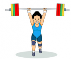 Sports Clipart - Free Weightlifting Clipart to Download