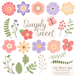 Wildflowers Flower Clipart & Vectors