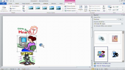 How to insert Clipart in Microsoft Office Word 2010 - YouTube