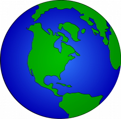 Transparent World Globe Clipart