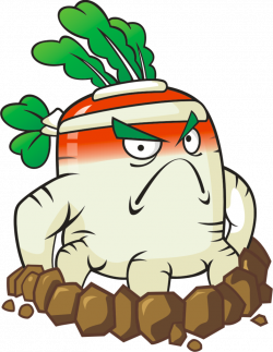Plants vs Zombies 2 White Radish (R) by illustation16 on DeviantArt ...